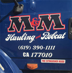 M&M Hauling - dumpster rental in El Cajon, CA