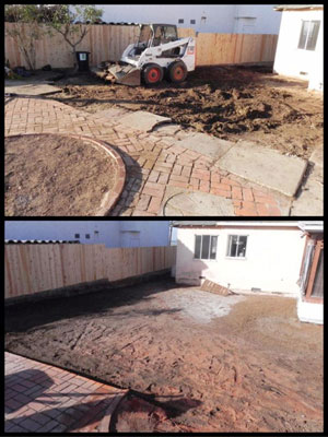 Excavation and bobcat service in Lakeside, CA